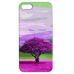 Landscape Apple Iphone 5 Hardshell Case With Stand by Valentinaart