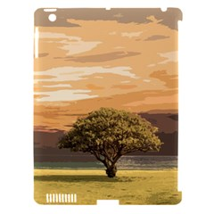 Landscape Apple Ipad 3/4 Hardshell Case (compatible With Smart Cover) by Valentinaart