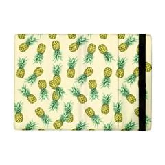 Pineapples Pattern Ipad Mini 2 Flip Cases by Valentinaart