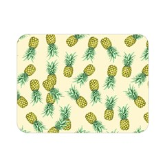 Pineapples Pattern Double Sided Flano Blanket (mini)  by Valentinaart