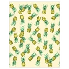 Pineapples Pattern Drawstring Bag (large) by Valentinaart