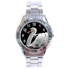 Swan Stainless Steel Analogue Watch by Valentinaart