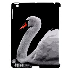 Swan Apple Ipad 3/4 Hardshell Case (compatible With Smart Cover) by Valentinaart