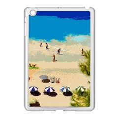 Beach Apple Ipad Mini Case (white) by Valentinaart