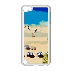 Beach Apple Ipod Touch 5 Case (white) by Valentinaart