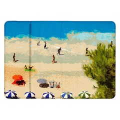 Beach Samsung Galaxy Tab 8 9  P7300 Flip Case by Valentinaart