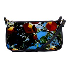 Orange Tree Shoulder Clutch Bags by Valentinaart