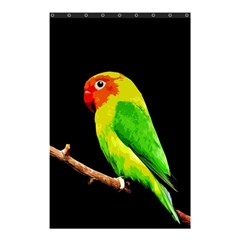 Parrot  Shower Curtain 48  X 72  (small)  by Valentinaart