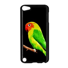 Parrot  Apple Ipod Touch 5 Case (black) by Valentinaart