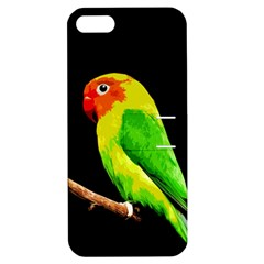 Parrot  Apple Iphone 5 Hardshell Case With Stand by Valentinaart