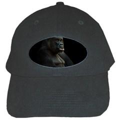 Gorilla  Black Cap by Valentinaart