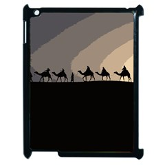 Caravan  Apple Ipad 2 Case (black) by Valentinaart