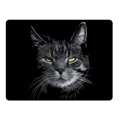 Domestic Cat Fleece Blanket (small) by Valentinaart
