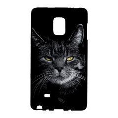 Domestic Cat Galaxy Note Edge by Valentinaart