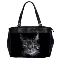 Domestic Cat Office Handbags (2 Sides)  by Valentinaart