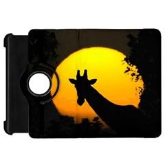 Giraffe  Kindle Fire Hd 7  by Valentinaart