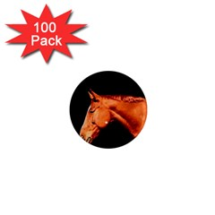 Horse 1  Mini Magnets (100 Pack)  by Valentinaart