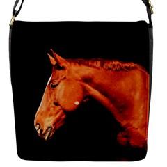 Horse Flap Messenger Bag (s) by Valentinaart
