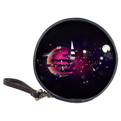 Fragments Planet World 3840x2400 Classic 20 Cd Wallets by amphoto