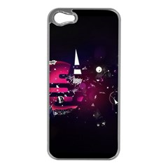 Fragments Planet World 3840x2400 Apple Iphone 5 Case (silver) by amphoto