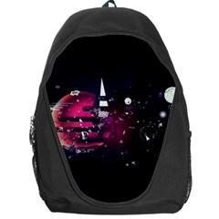 Fragments Planet World 3840x2400 Backpack Bag