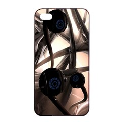 Connection Shadow Background  Apple Iphone 4/4s Seamless Case (black) by amphoto