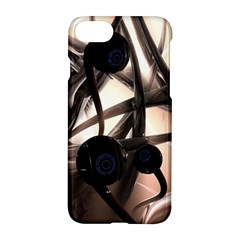 Connection Shadow Background  Apple Iphone 7 Hardshell Case by amphoto