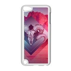 Horns Background Cube  Apple Ipod Touch 5 Case (white) by amphoto