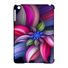 Flower Rotation Form  Apple Ipad Mini Hardshell Case (compatible With Smart Cover) by amphoto