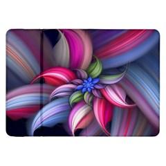 Flower Rotation Form  Samsung Galaxy Tab 8 9  P7300 Flip Case by amphoto