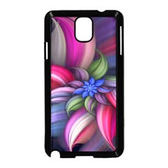 Flower Rotation Form  Samsung Galaxy Note 3 Neo Hardshell Case (black) by amphoto