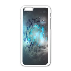 Something Light Abstraction  Apple Iphone 6/6s White Enamel Case by amphoto