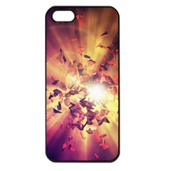 Shards Explosion Energy  Apple Iphone 5 Seamless Case (black) by amphoto