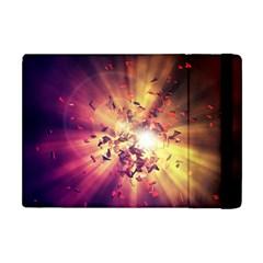Shards Explosion Energy  Apple Ipad Mini Flip Case by amphoto