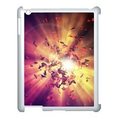 Shards Explosion Energy  Apple Ipad 3/4 Case (white) by amphoto