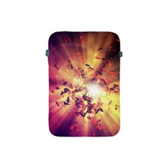 Shards Explosion Energy  Apple Ipad Mini Protective Soft Cases by amphoto