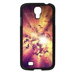 Shards Explosion Energy  Samsung Galaxy S4 I9500/ I9505 Case (black) by amphoto