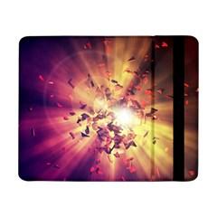 Shards Explosion Energy  Samsung Galaxy Tab Pro 8 4  Flip Case by amphoto