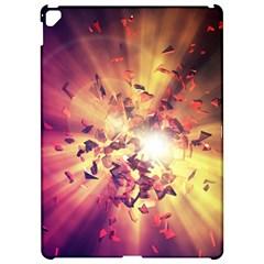 Shards Explosion Energy  Apple Ipad Pro 12 9   Hardshell Case by amphoto