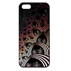 Patterns Surface Shape Apple Iphone 5 Seamless Case (black) by amphoto