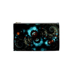 Spiral Background Form 3840x2400 Cosmetic Bag (small)  by amphoto