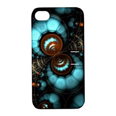 Spiral Background Form 3840x2400 Apple Iphone 4/4s Hardshell Case With Stand by amphoto