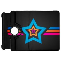 Star Background Colorful  Kindle Fire Hd 7  by amphoto