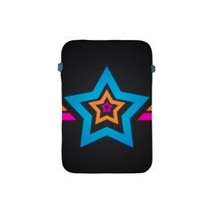 Star Background Colorful  Apple Ipad Mini Protective Soft Cases by amphoto