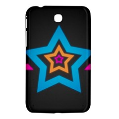 Star Background Colorful  Samsung Galaxy Tab 3 (7 ) P3200 Hardshell Case  by amphoto