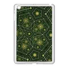 Shape Surface Patterns  Apple Ipad Mini Case (white) by amphoto