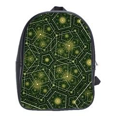 Shape Surface Patterns  School Bag (xl) by amphoto