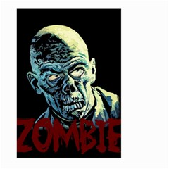 Zombie Large Garden Flag (two Sides) by Valentinaart