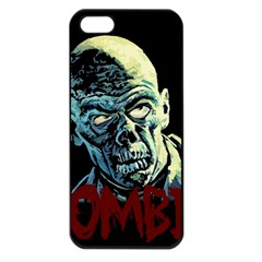 Zombie Apple Iphone 5 Seamless Case (black) by Valentinaart