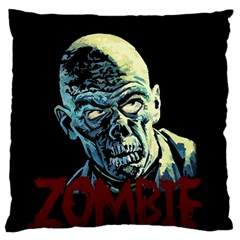 Zombie Standard Flano Cushion Case (two Sides) by Valentinaart